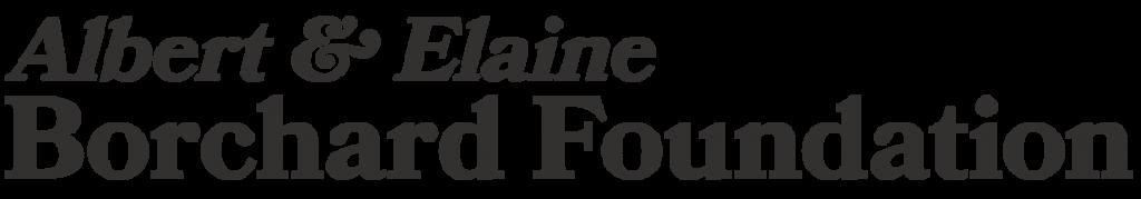 Albert & Elaine Borchard Foundation Logo